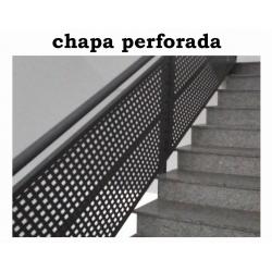 CHAPA PERFORADA BARANDILLA...